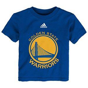 Baby adidas Golden State Warriors Team Logo Tee