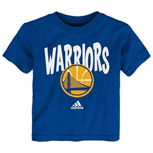 Baby adidas Golden State Warriors Whirlwind Tee