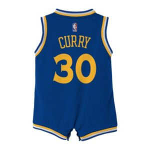 Baby adidas Golden State Warriors Stephen Curry Jersey Bodysuit