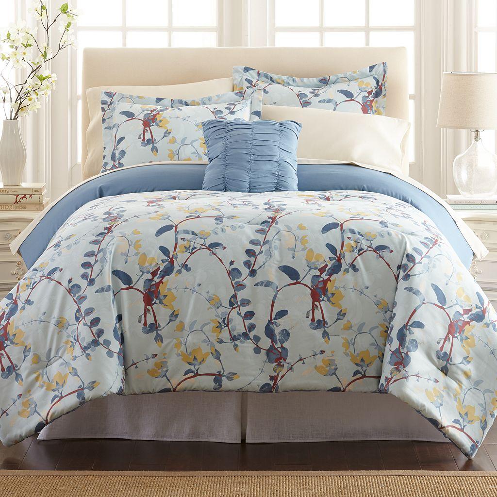 Lucia Printed Reversible Comforter Set