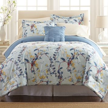 Lucia Printed Reversible Comforter Set