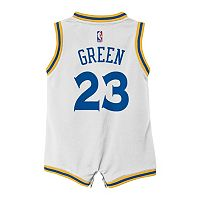 Baby adidas Golden State Warriors Draymond Green Jersey Bodysuit