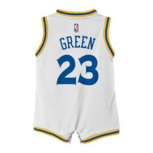 Baby adidas Golden State Warriors Draymond Green Jersey Bodysuit
