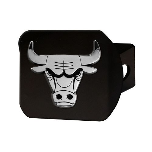 FANMATS Chicago Bulls Black Trailer Hitch Cover