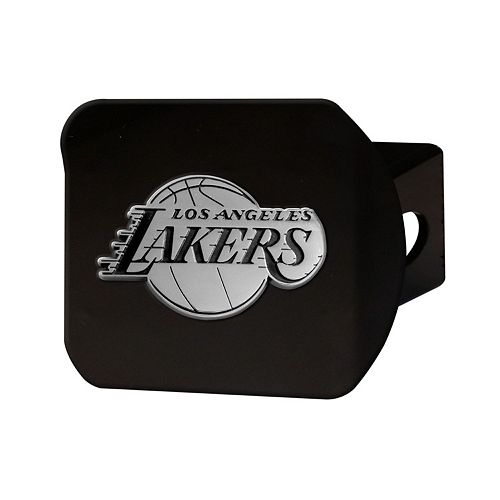 FANMATS Los Angeles Lakers Black Trailer Hitch Cover