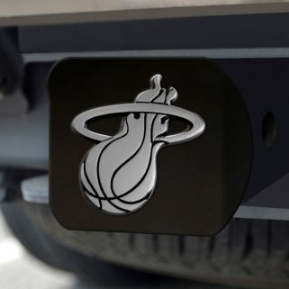 FANMATS Miami Heat Black Trailer Hitch Cover