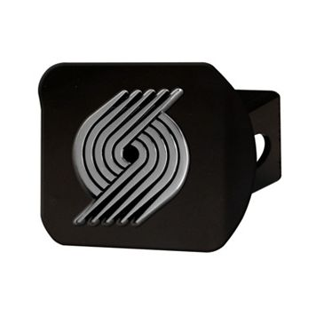 FANMATS Portland Trail Blazers Black Trailer Hitch Cover