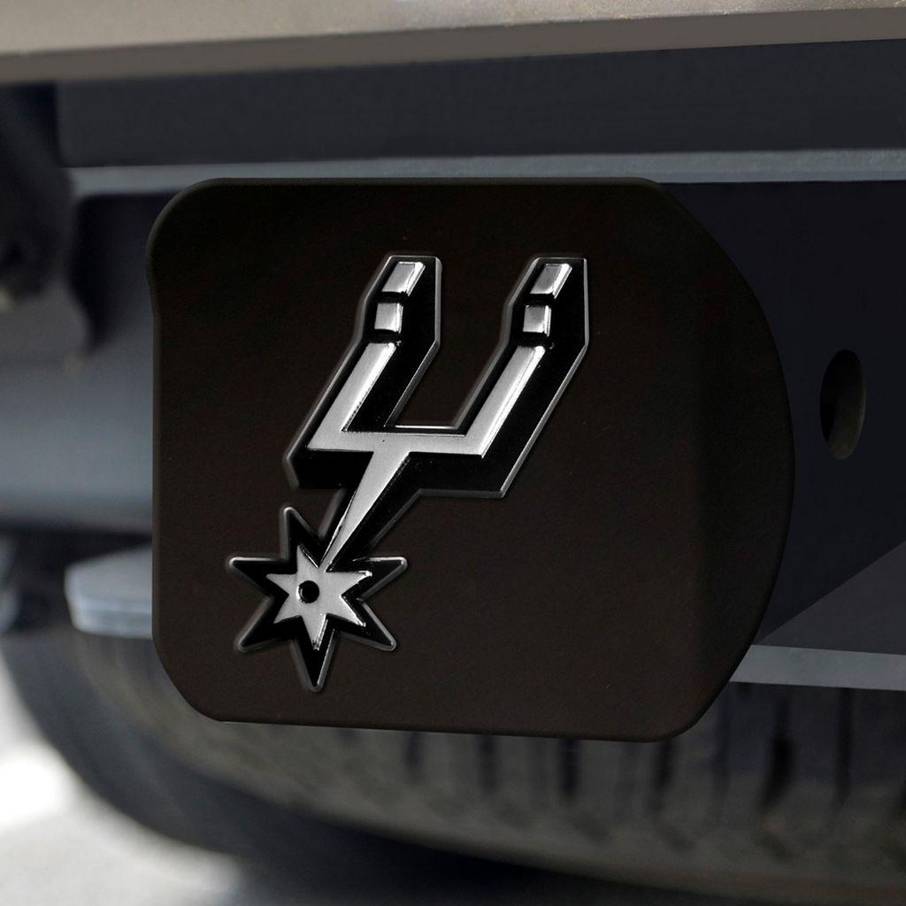 FANMATS San Antonio Spurs Black Trailer Hitch Cover