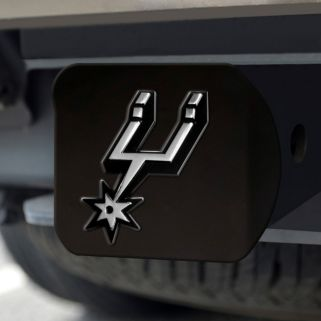 FANMATS San Antonio Spurs Black Trailer Hitch Cover
