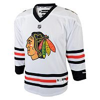 Baby Reebok Chicago Blackhawks White Replica Jersey