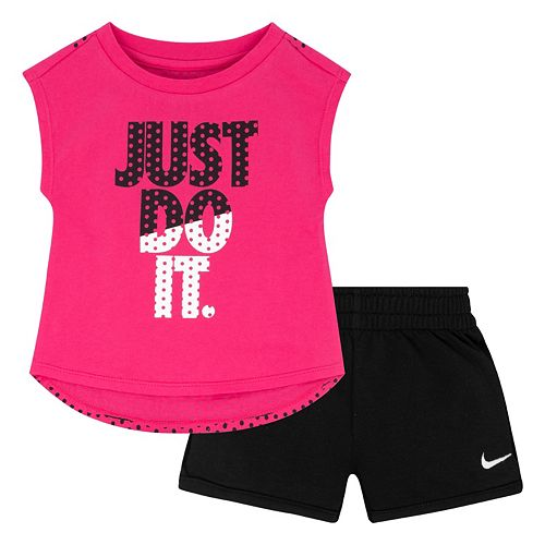 Pink Nike Logo Just Do It