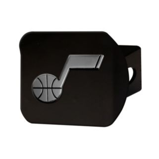 FANMATS Utah Jazz Black Trailer Hitch Cover