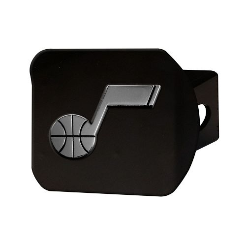 FANMATS Utah Jazz Black Trailer Hitch Cover