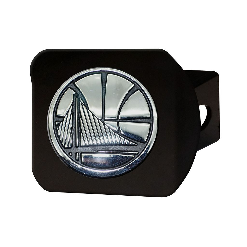 FANMATS Golden State Warriors Black Trailer Hitch Cover