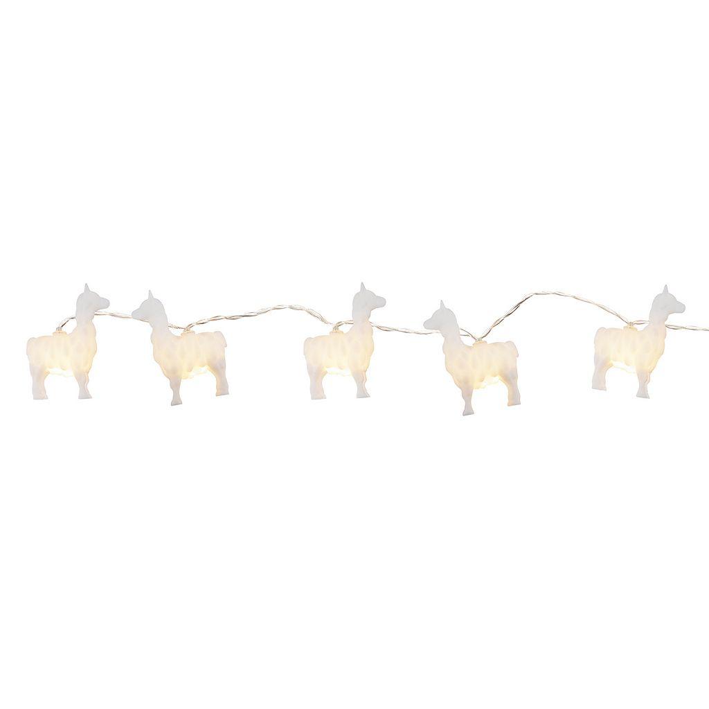 Simple By Design 10-Light Llama String Lights