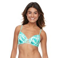 Mix-and-Match Palm Push Up Bikini Top
