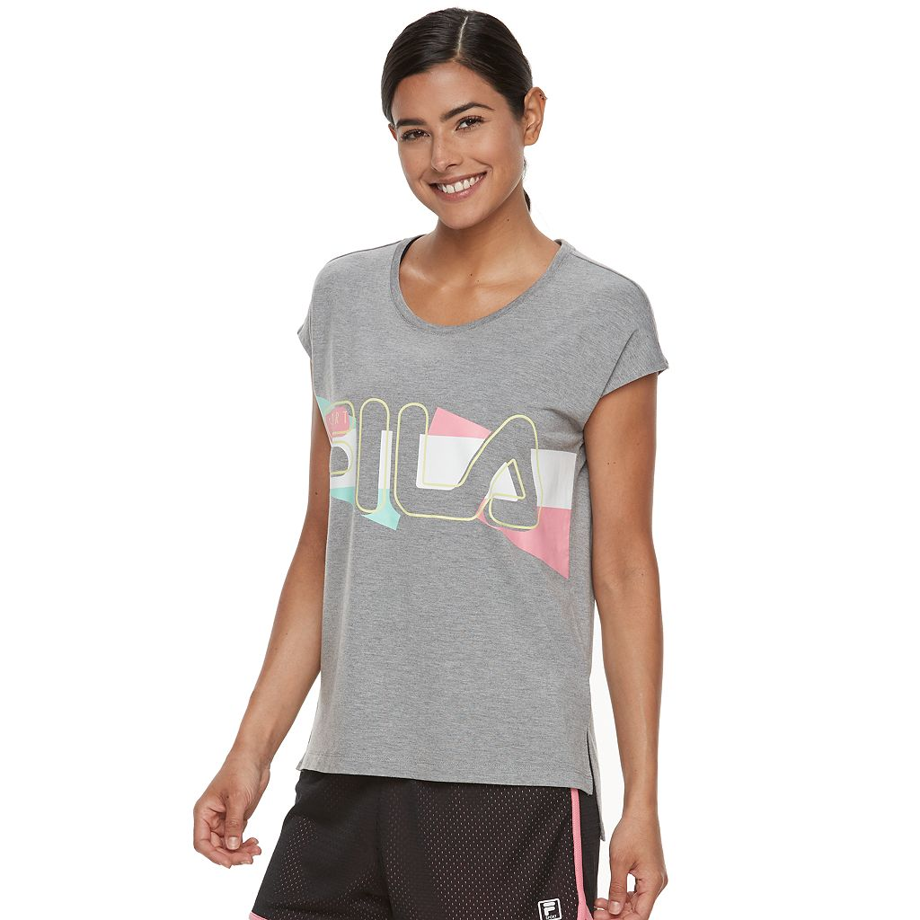 Women's FILA SPORT® Step Hem Graphic Tee