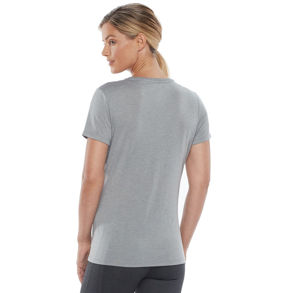 Women's FILA SPORT® Logo Short Sleeve Graphic Tee