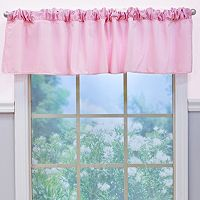 Nurture Garden District Pink Velour Window Valance