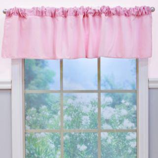 Nurture Garden District Pink Velour Window Valance