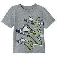 Baby Boy Jumping Beans® Jet Plane Graphic Tee