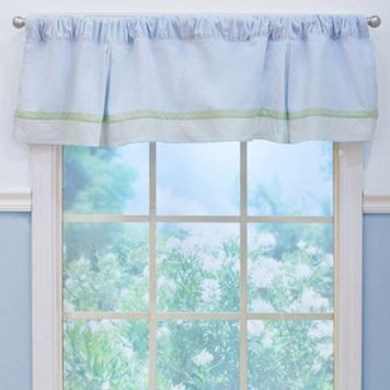 Nurture Zig Zag Velour Window Valance