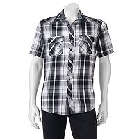 Big & Tall Rock & Republic Classic-Fit Stretch Button-Down Shirt