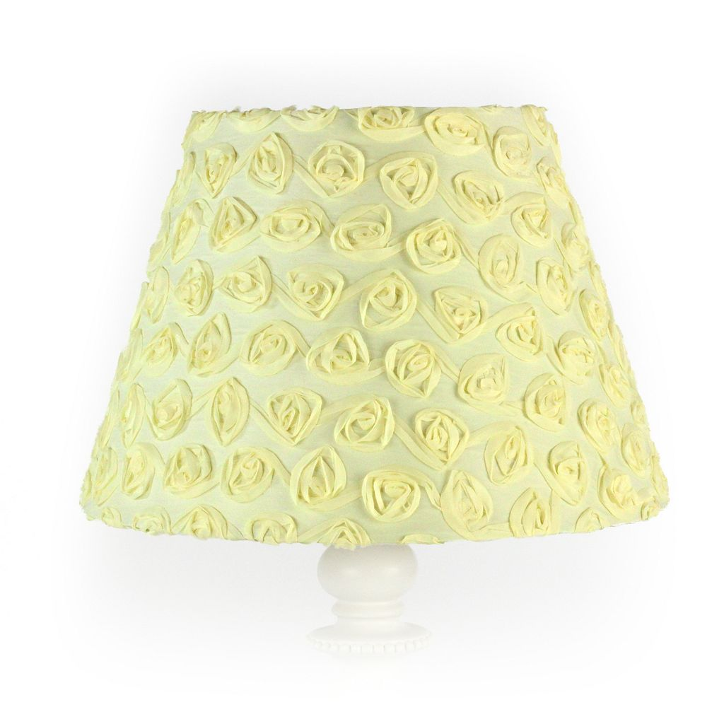 Nurture Yellow Rose Lamp Base & Shade