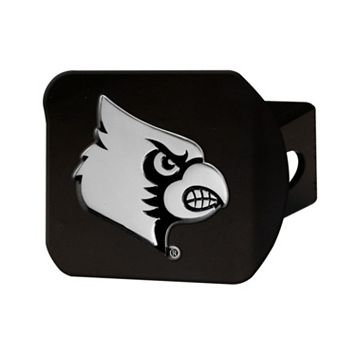 FANMATS Louisville Cardinals Black Trailer Hitch Cover
