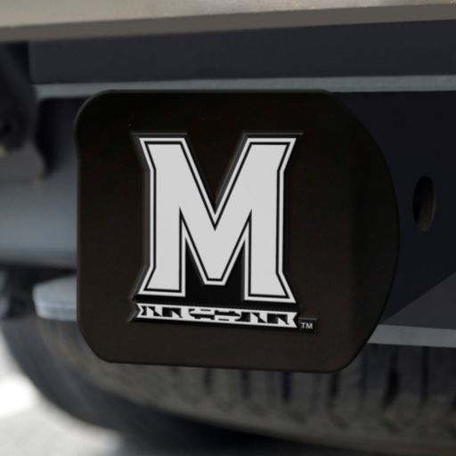 FANMATS Maryland Terrapins Black Trailer Hitch Cover