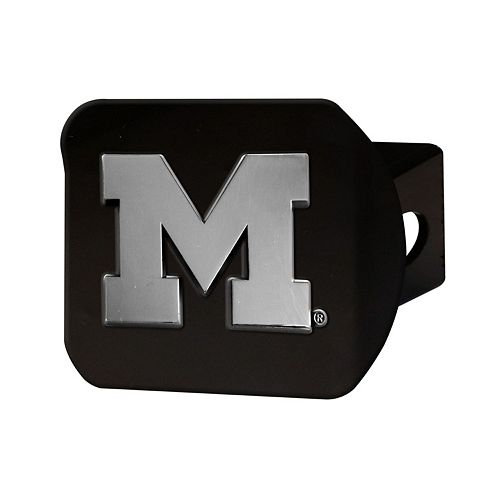 FANMATS Michigan Wolverines Black Trailer Hitch Cover