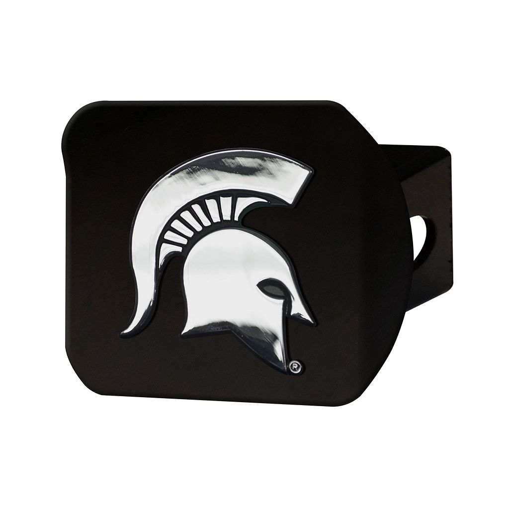 FANMATS Michigan State Spartans Black Trailer Hitch Cover