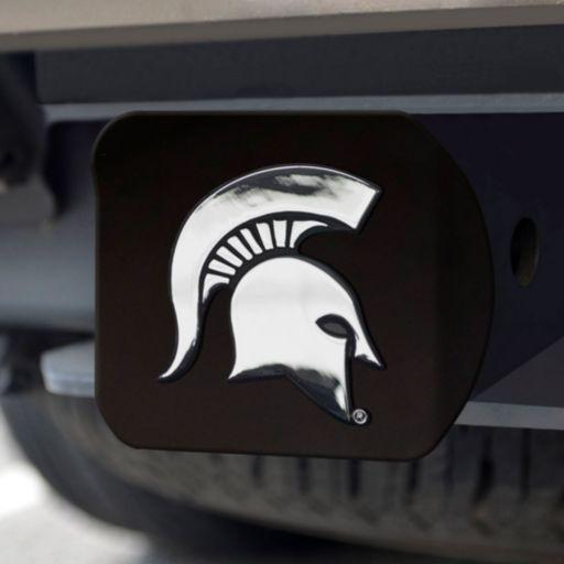 FANMATS Michigan State Spartans Black Trailer Hitch Cover
