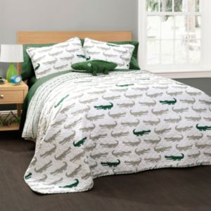 Alligator Quilt Set