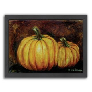 Americanflat Pumpkin Harvest Framed Wall Art