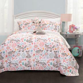 Pixie Fox Quilt Set