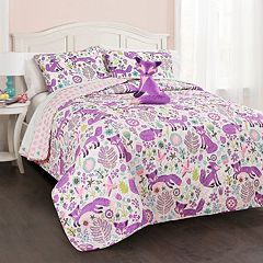 Pixie Fox Quilt Set
