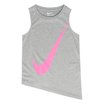 Girls 4-6x Nike Swoosh Tank Top