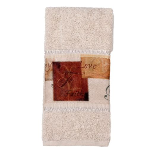 Saturday Knight, Ltd. Tranquility Printed Fingertip Towel