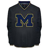 Men's Franchise Club Michigan Wolverines Elite Windshell Jacket