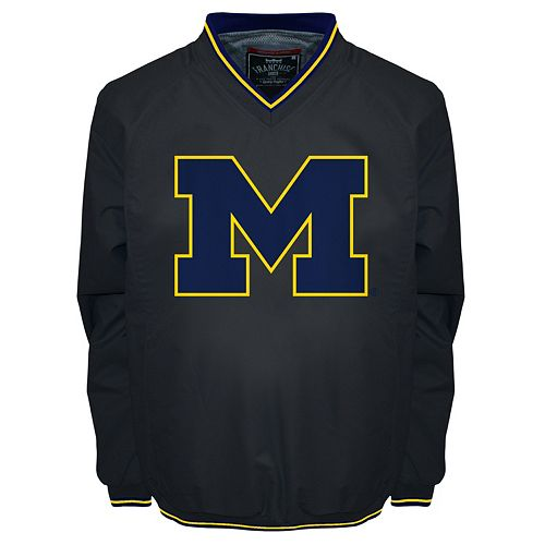 Men's Franchise Club Michigan Wolverines Elite Windshell Jacket