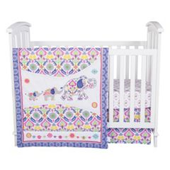 Waverly Baby by Trend Lab Santa Maria 5 pc Crib Bedding Set