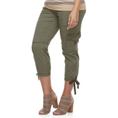 Maternity a:glow Belly Panel Utility Capris