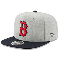 Adult New Era Boston Red Sox 9FIFTY Heather Action Snapback Cap