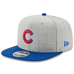 Adult New Era Chicago Cubs 9FIFTY Heather Action Snapback Cap