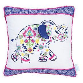 Waverly Baby by Trend Lab Santa Maria Elephant Decorative Pillow