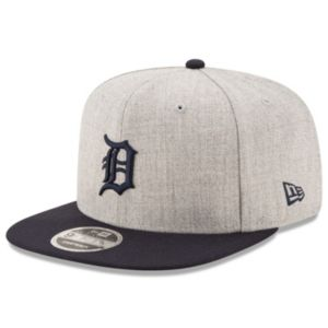 Adult New Era Detroit Tigers 9FIFTY Heather Action Snapback Cap
