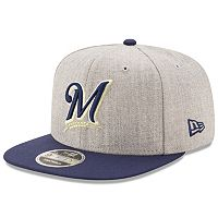 Adult New Era Milwaukee Brewers 9FIFTY Heather Action Snapback Cap