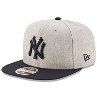 Adult New Era New York Yankees 9FIFTY Heather Action Snapback Cap