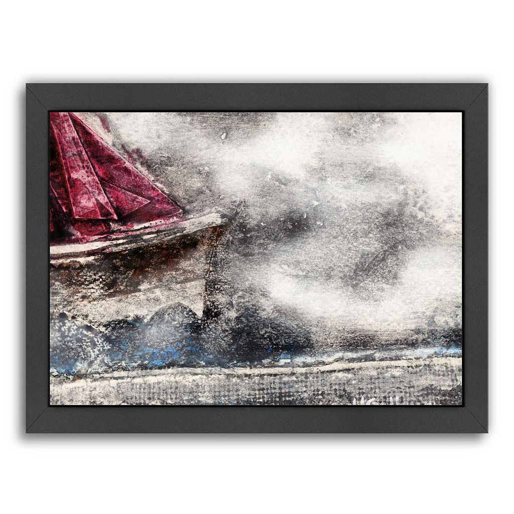 Americanflat They Sailed Away For A Year And A Day Framed Wall Art